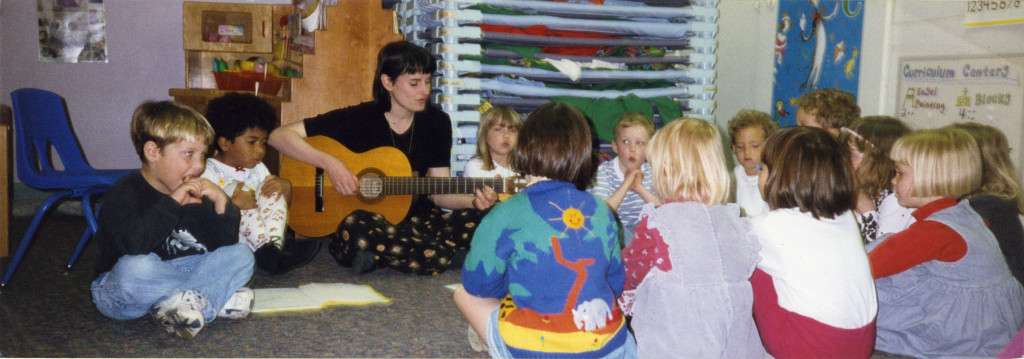 Teaching With Guitar